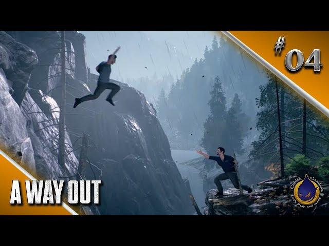 AUF DER FLUCHT 🔫 Let's Play A WAY OUT #04