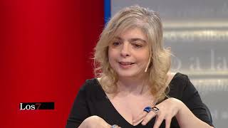 Mariana Enríquez en Los siete locos