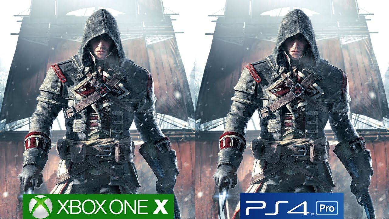 Assassin S Creed Rogue Remastered Ps4 Pro Vs Xbox One X Graphics