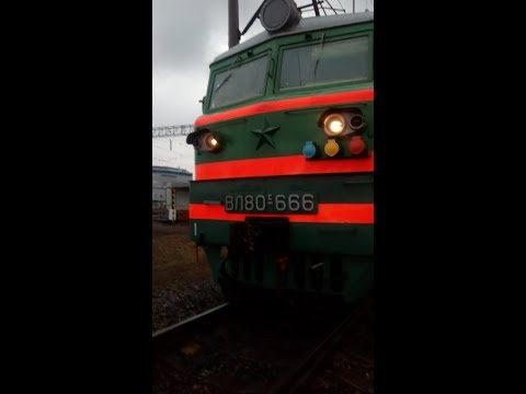 Ст. Котельнич глазами машиниста поезда       St. Kotel'nich The Eyes Of A Train Driver