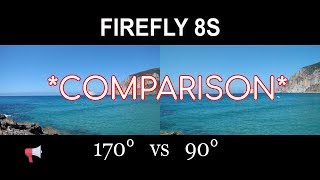 FIREFLY 8S   170 vs 90 - Same model different FOV