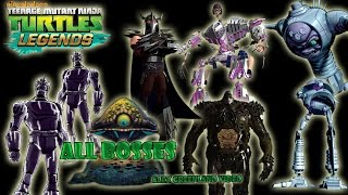 TMNT Legends - All Bosses