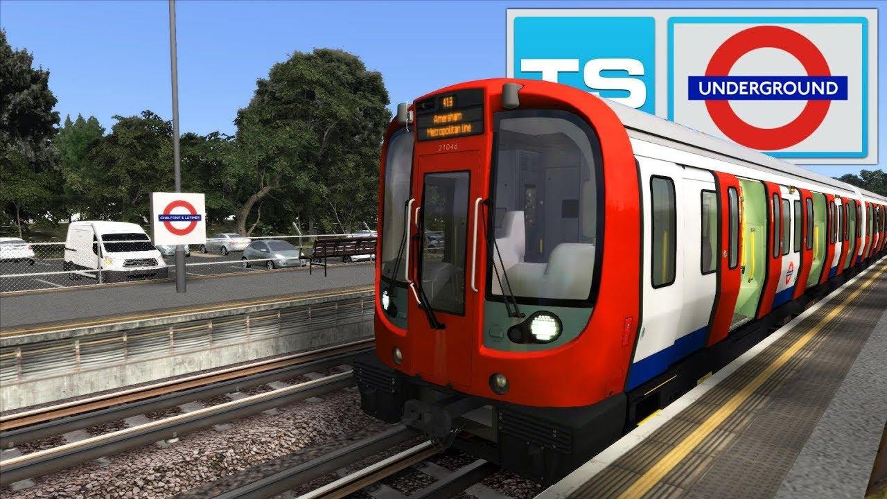 Train Simulator 2019 [64Bit] - JT S8 Advanced Stock: Harrow-On-The-Hill to  Amersham
