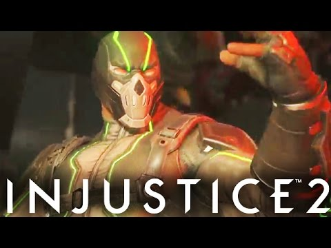 """Injustice 2: """"Bane"""" Gameplay, Epic Gear & New Abilities Breakdown Injustice (Gods Among Us 2)"""