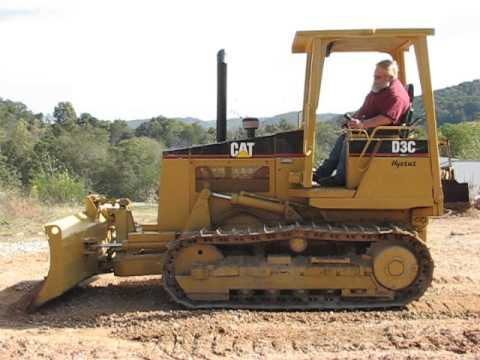 1997 CAT D3C III Crawler Tractor