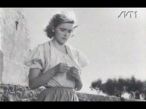 Sven Lindberg - Flicka från Backafall & Lily Berglund - Vänliga Aftonvind - Svensk sång visa 1953