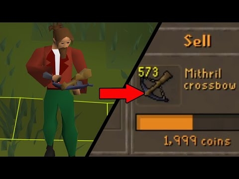 Nobody Has Ever Used this Item as a Training Method Until Now! Ge Only #6 [OSRS]