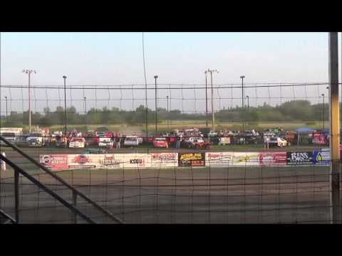 LMSS TOURING SERIES HEAT 1 RAPID SPEEDWAY JUNE 10,2016