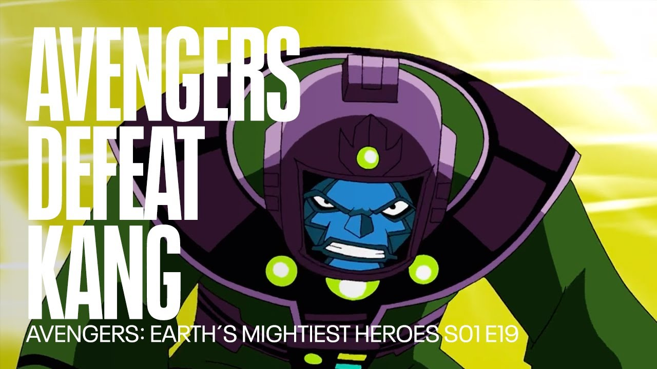 Download The Avengers defeat Kang | Avengers: Earth´s Mightiest Heroes
