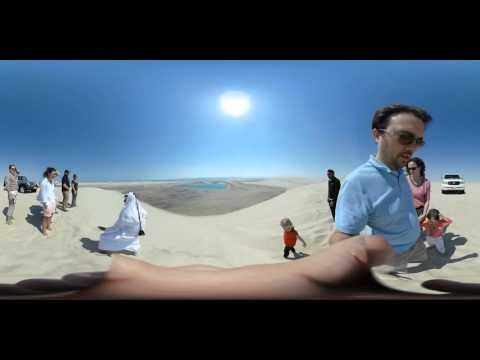 360 VR Video Test the desrt Qatar