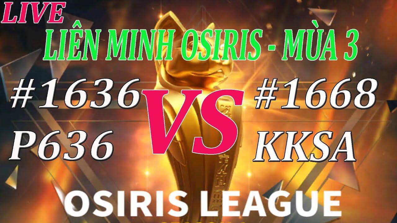 Bán Kết Osiris [1636] P636 vs [1668] KKSA - Một trận đấu đầy sự bất ngờ | Rise of Kingdoms