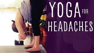 20 minute Yoga for Headaches with Fightmaster Yoga