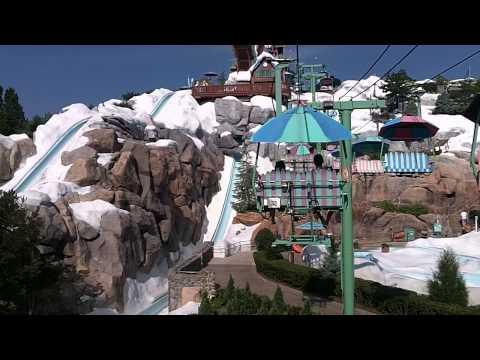 Blizzard Beach Chairlift - Water Park Ski Lift