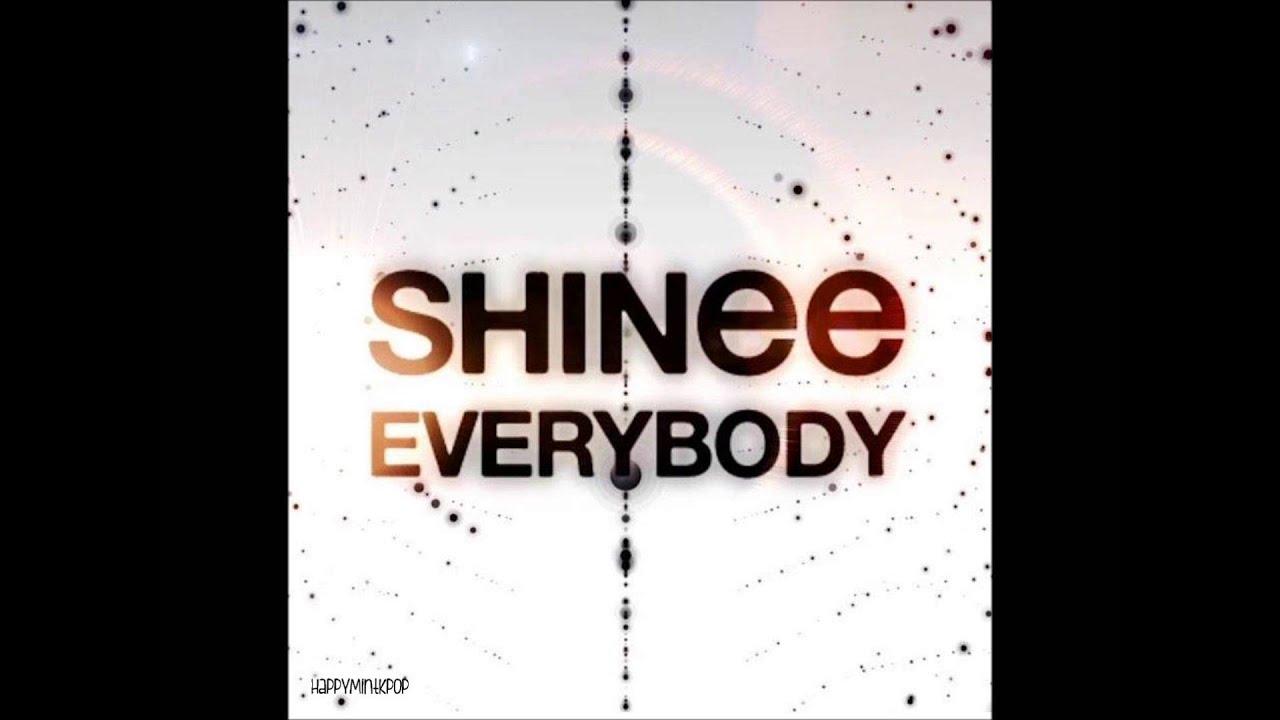 [Full Audio/MP3 DL] SHINee- Everybody HD