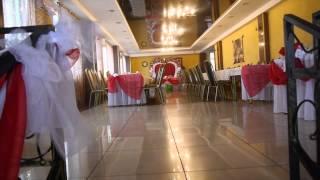 Оформление зала на свадьбу столовая Торгмаша в Барановичах
