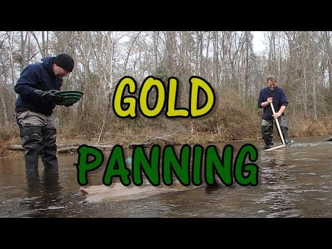 Carolina Motherlode - A Short Trip Gold Panning