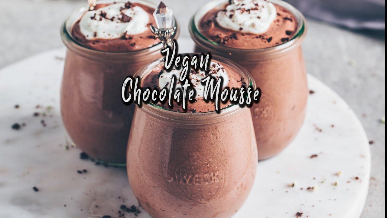 Vegan Chocolate Mousse with Aquafaba *Recipe