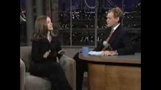 Natalie Portman on Late Show (1996)