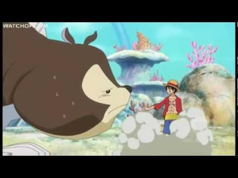 Luffy Using Power Haki - Fishman Island