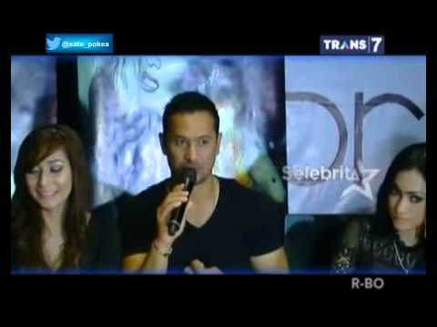 Amel Alvi Siram Segelas Air Ke Wajah Baby Margaretha Saat Konferensi Pers