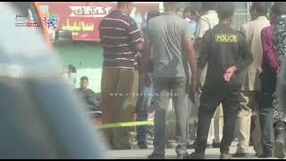 دوت مصر | لحظة رفع جثمان إرهابى مسطرد داخل الإسعاف