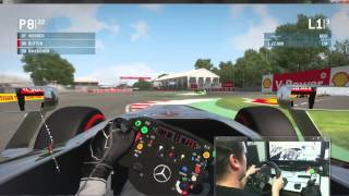 F1 2013 PC : Canadian GP, 3 Laps Race, Easy
