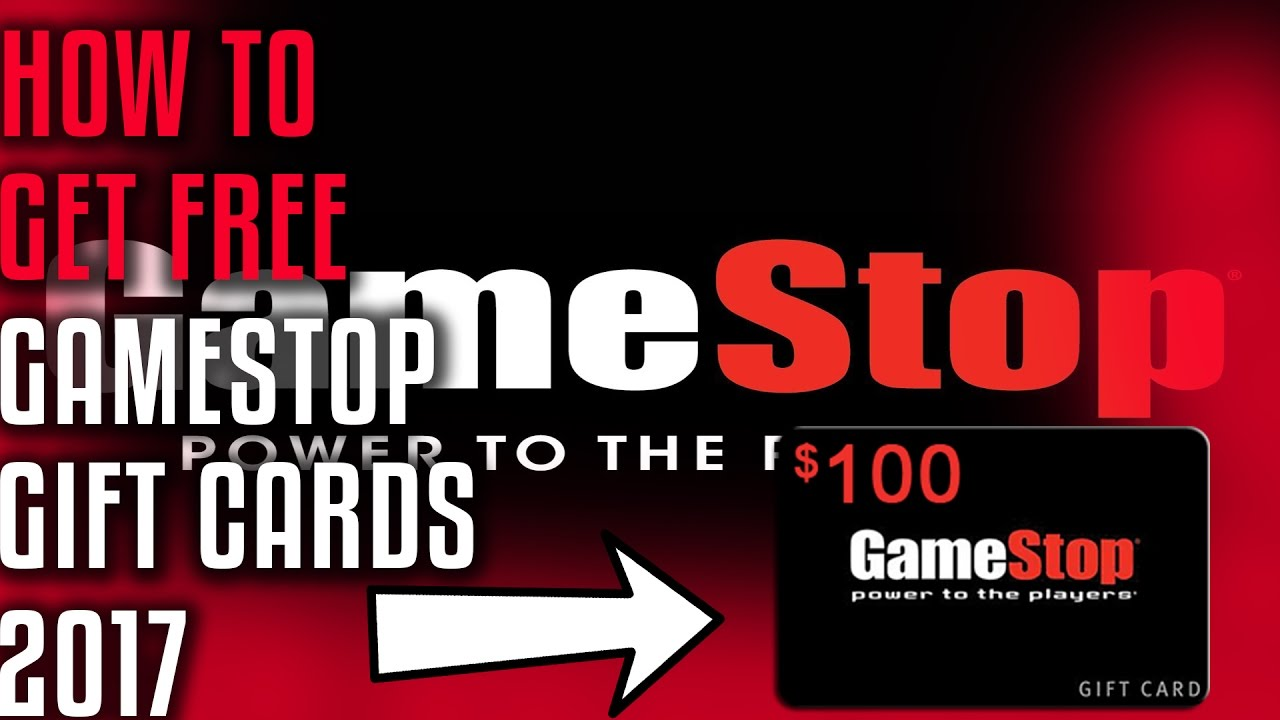 DOES IT WORK?!How To Get FREE GameStop Gift Cards 2017 - YouTube