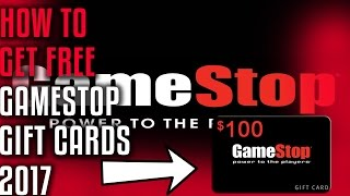 Does It Work?!how To Get Free Gamestop Gift Cards 2017