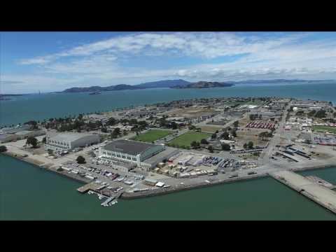 Treasure Island San Francisco Bay Drones
