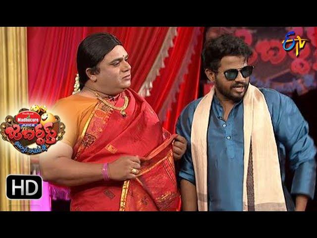 Hyper  Aadi Raijing Raju Performance | Jabardsth | 13th  July 2017| ETV  Telugu