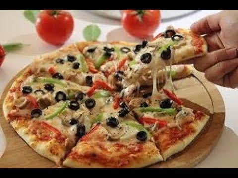 صورة  طريقة عمل البيتزا italian Pizza  طريقة عمل  البيتزا الايطالية بكل سهولة بكل تفاصيلها  أروع من الجاهزة طريقة عمل البيتزا من يوتيوب