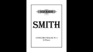 James Smith's Concert Waltz No.1 in G