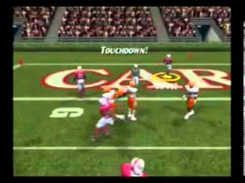 Gamecube NCAA Football 2004 Gameplay - YouTube