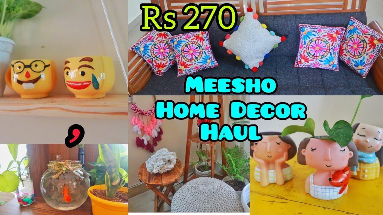 Cheapest Meesho Home Decor Haul oru kutty haul karimashinew