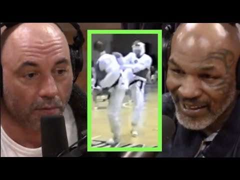 Mike Tyson Asks Joe Rogan About His Fighting Days