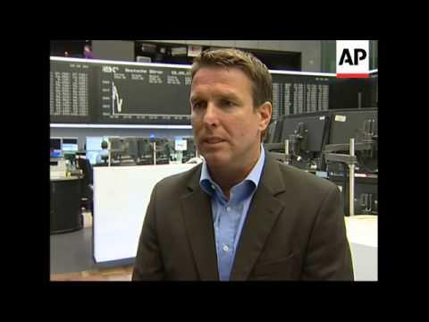 WRAP Frankfurt stock exchange opens, opening of MICEX exchanges ADDS Paris