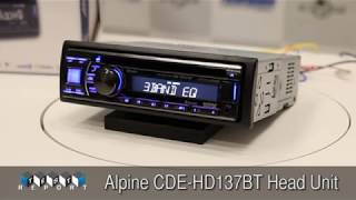 Alpine CDE-HD137BT Head Unit Review