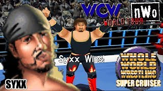 WCW vs nWo: World Tour N64 Playthroughs - SUPER CRUISERWEIGHT Title with SYXX