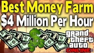 GTA Online BEST MONEY FARM - $4 Million & 700k RP Per Hour [GTA V Multiplayer]