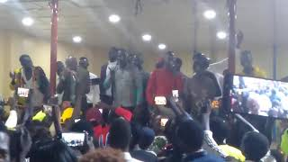 Dau Mobatel ft Deng Mtoto - performance  at south Sudan Hotel