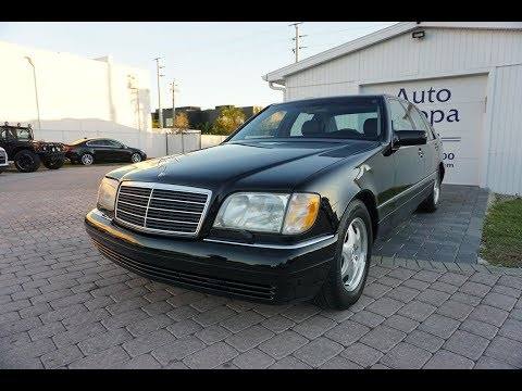 The Best S Ever? W140 Cars Like This Mercedes-Benz S500 Are The Most Over-engineered Vehicles Ever