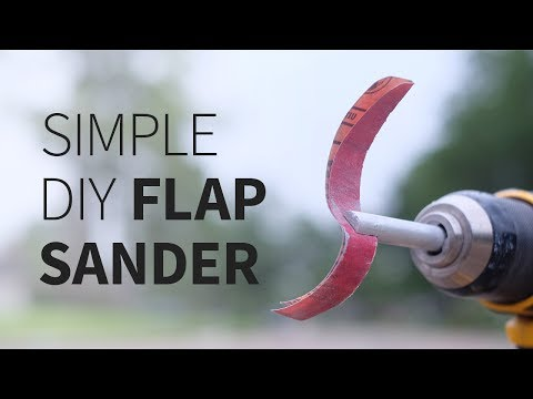 Download Youtube: Simple DIY Flap Sander