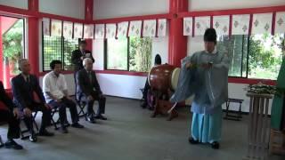 種子島のふるさと情報:浜津脇熊野神社夏祭り神事ダイジェスト