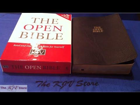 KJV Open Bible