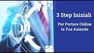 3 Step Necessari per portare la tua Azienda Online