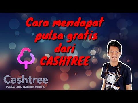 cara mendapat pulsa gratis dari cashtree