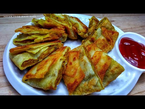 Aloo Wrap Recipe In Hindi by Indian Food Made Easy