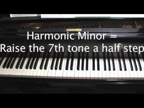 Piano Lesson #5 - The A Minor Scale