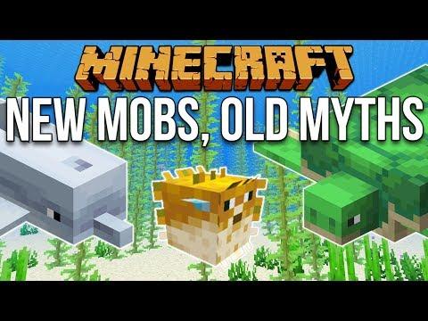 Minecraft 1.13 New Mobs, Old Myths [Minecraft Myth Busting 111]