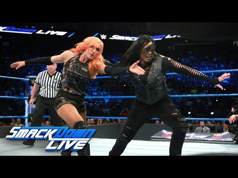 Fatal Four-Way Match - Winner challenges for SmackDown Women's Title: SmackDown LIVE, Sept. 19, 2017